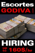HOT GIRL WANTED @GODIVA BUSY! 514-668-8982